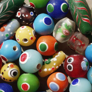 Indian Glass | Porcelain Beads